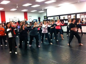 Women's Self Defense Class.